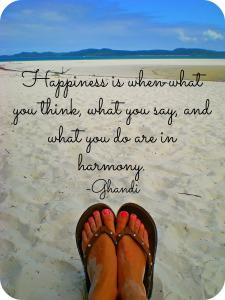 flip flop beach-happiness