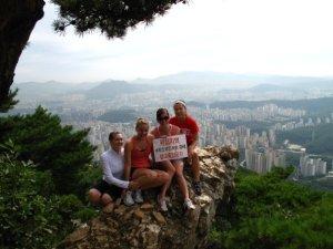 Korea hiking