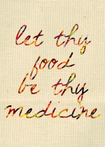 food be thy medicine