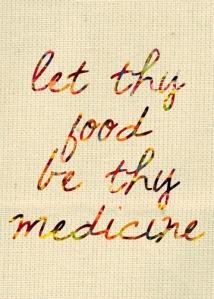 food be thy medicine