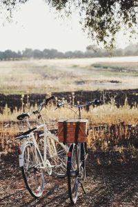bikes and scenery