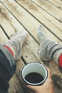 socks and tea