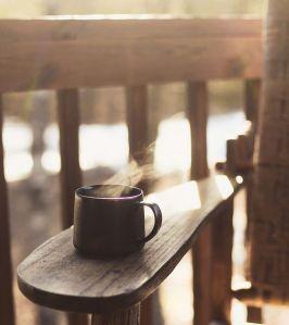 tea and chair